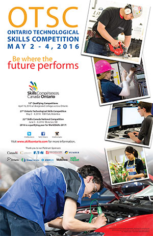Skills Canada poster