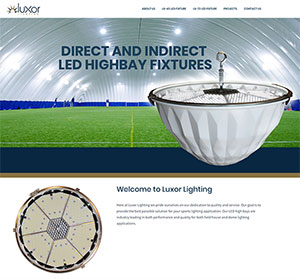 Luxor Lighting website